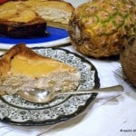 Cheesecake dietetic cu ananas si cocos