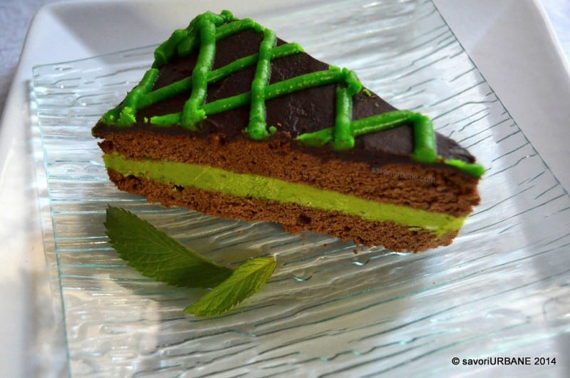 Tort cu menta si ciocolata After Eight (10)