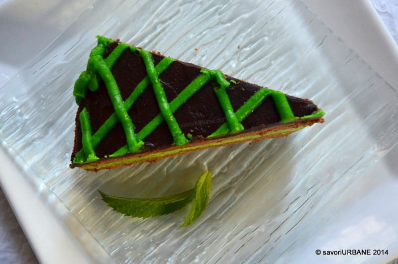 Tort cu menta si ciocolata After Eight (11)