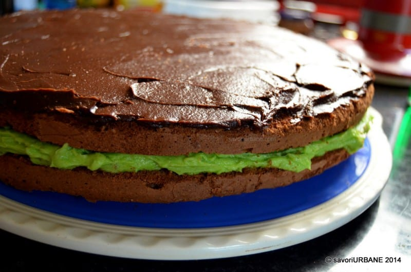Tort cu menta si ciocolata After Eight (7)