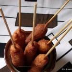 Crenvursti in aluat Corn Dogs