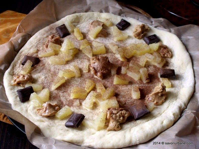 Pizza dulce tropicala (4)
