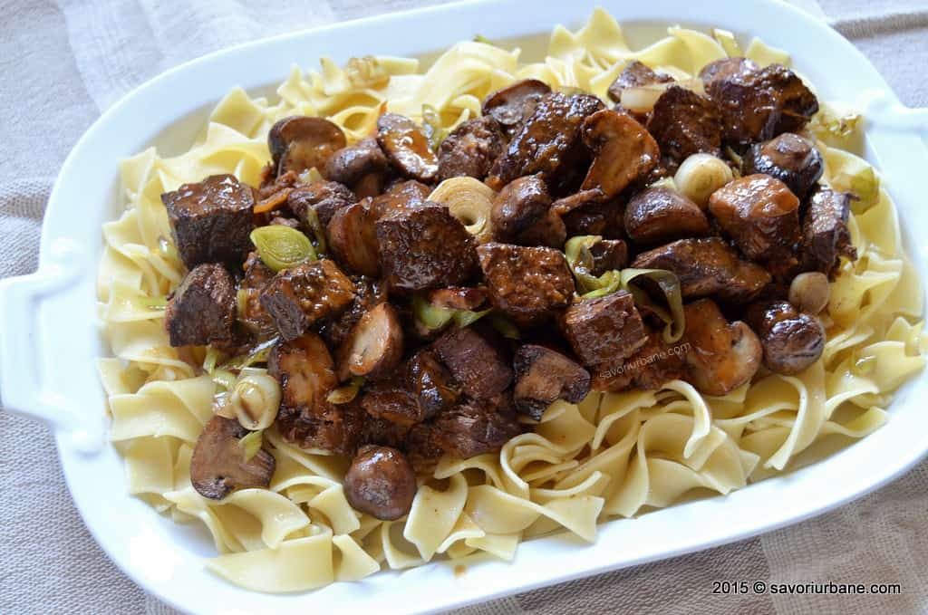 Boeuf Bourguignon reteta Julia Child (38)