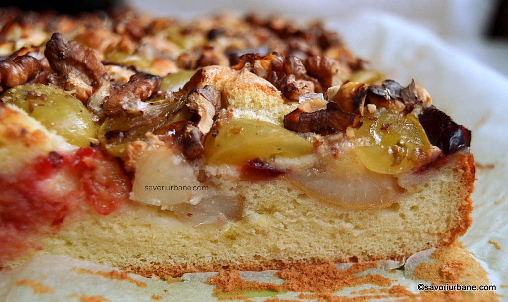 reteta prajitura simpla pufoasa cu fructe (1)