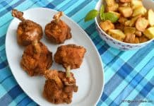 Aripioare de pui crocante - Chicken lollipop