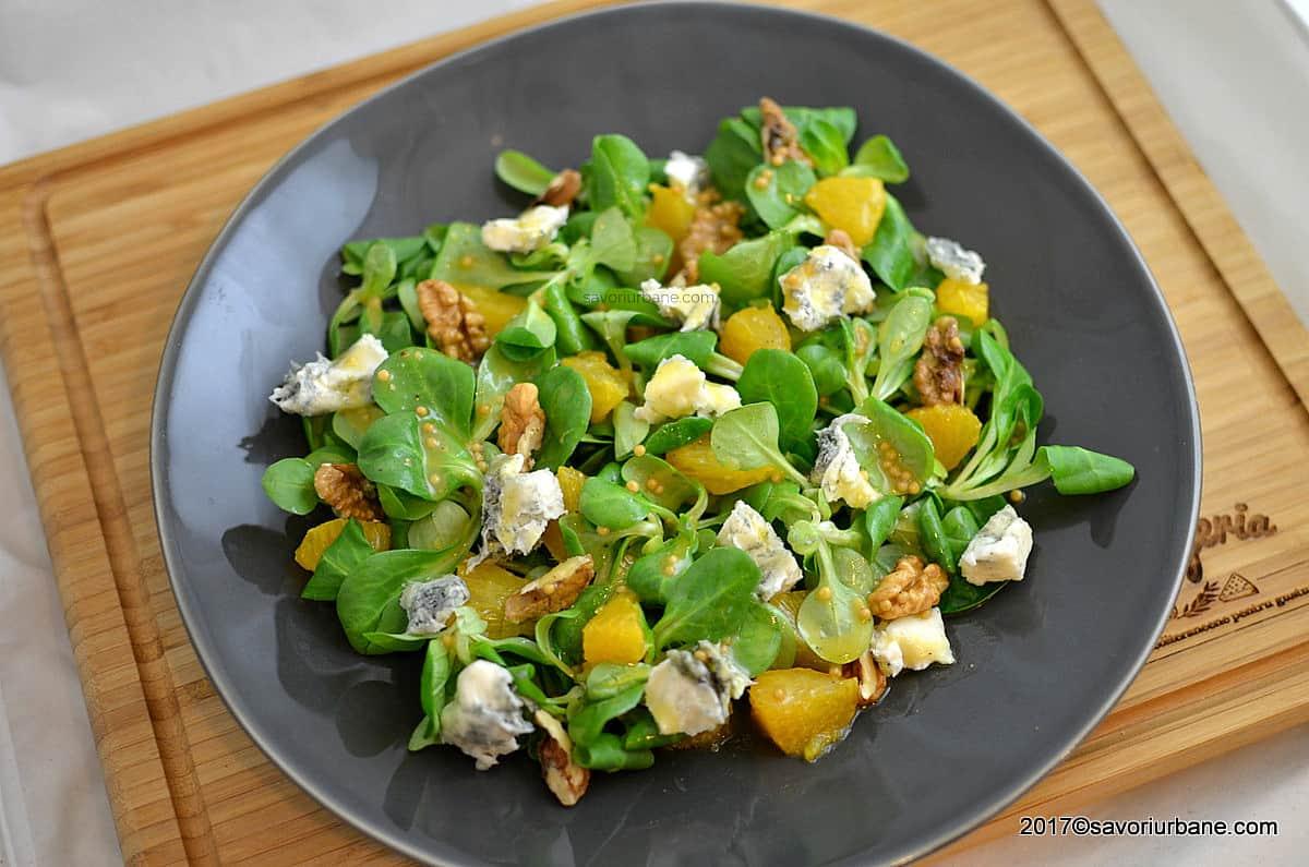valeriana reteta salata savori urbane