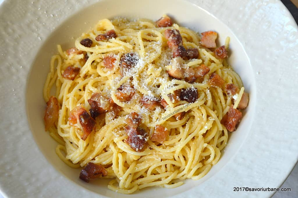 paste carbonara reteta originala italiana
