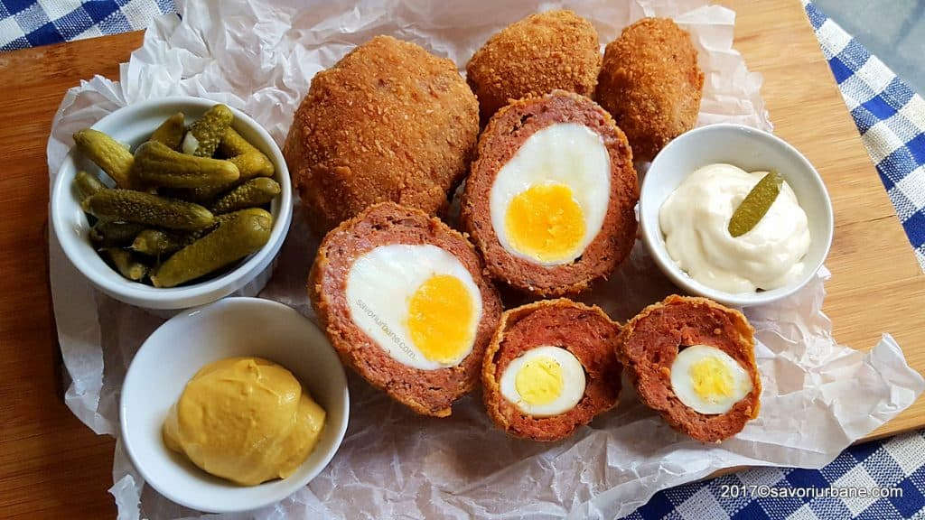 oua scotiene reteta originala de scotch eggs