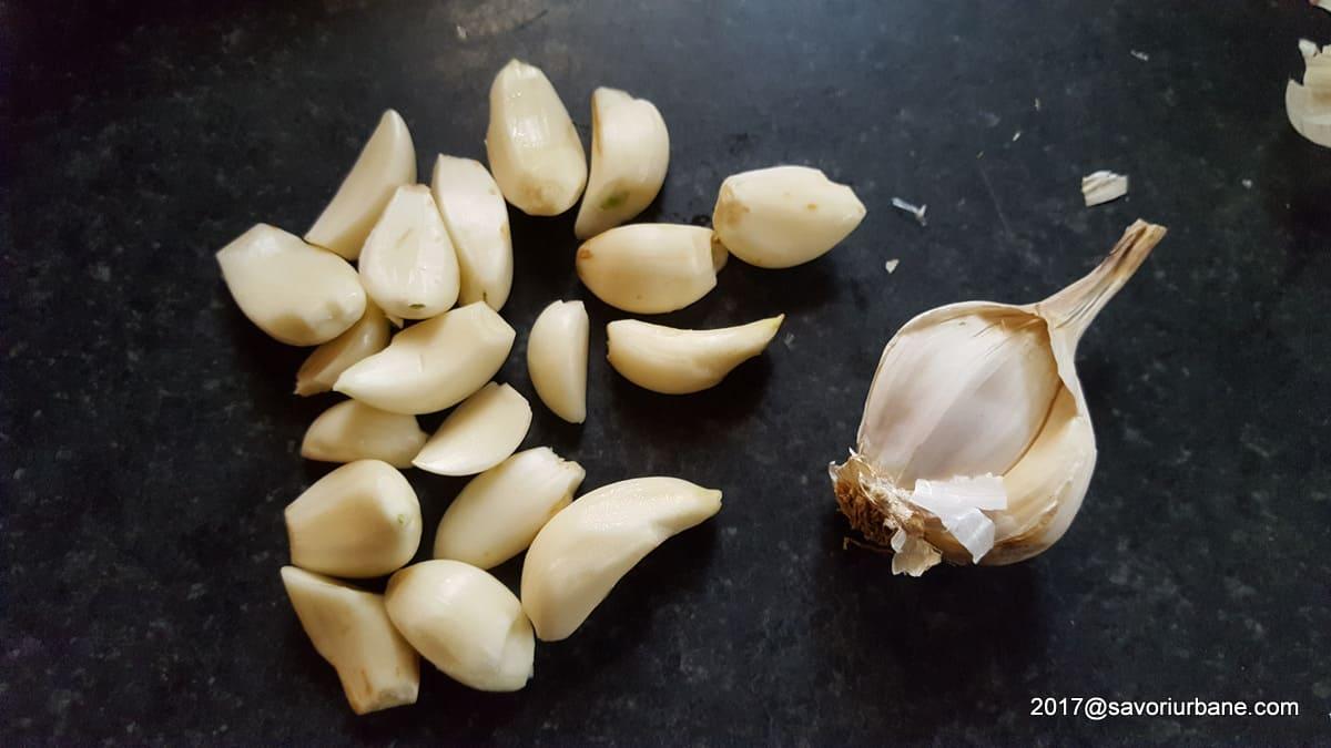 usturoi pisat pentru racituri piftie de pasare