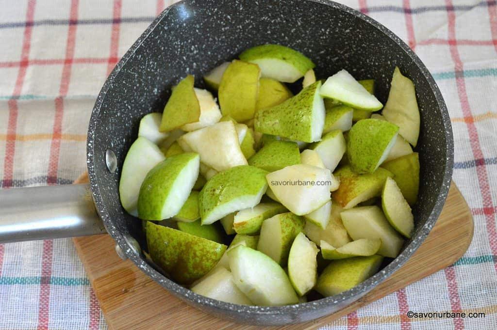preparare gem de pere marmelada fina (2)