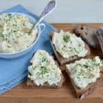 Conopidă cu maioneză, iaurt și usturoi – salată cremoasă de conopidă