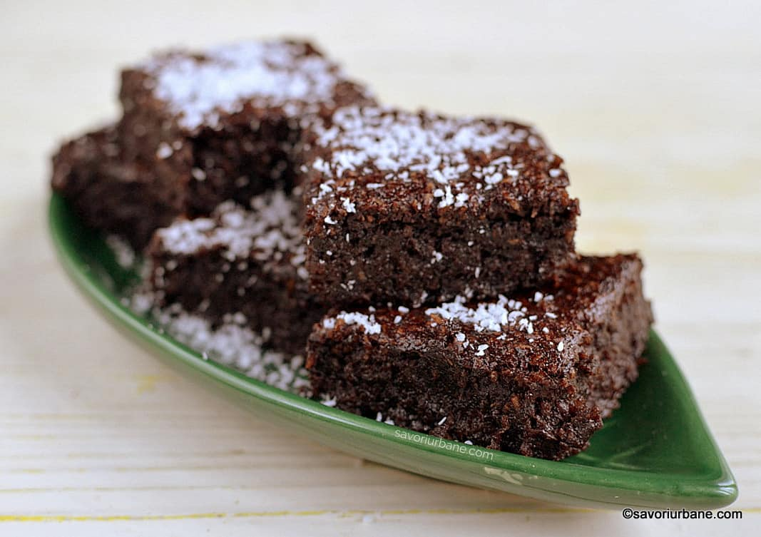vegan brownie gluten free lactose free egg free recipe